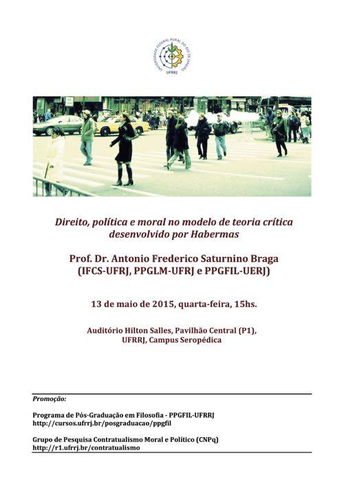 Conferência Antonio Frederico Saturnino Braga 500